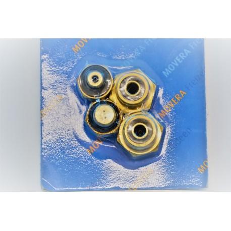 Kit 4 pezzi adattatori gas tipo EUR 68