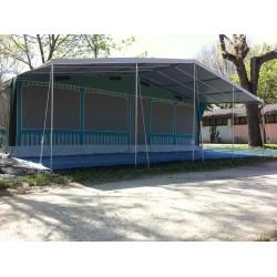 Tendalino per veranda roulotte